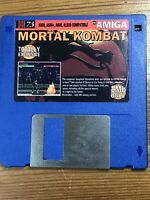CU Amiga Magazine Cover Disk 73 Mortal Kombat   TESTED WORKING