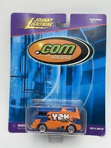 Johnny Lightning .Com Racers Yek Bus Orange/Blue 1/64 Scale FREE SHIPPING