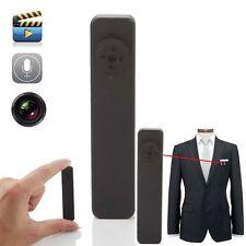 Mini Audio Video Recorder Spy Button Fastener Camera HD 8GB Portable Camcorder