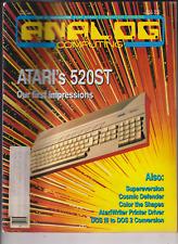 Analog Computing Atari Mag Atari's 520ST First Impression July 1985 010920nonr