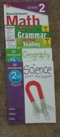 2nd Second Grade Homeschool curriculum: Math, Grammar, Reading, Science History