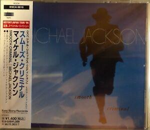 CD JAPAN + OBI - MICHAEL JACKSON - SMOOTH CRIMINAL