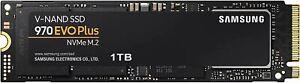 Samsung (MZ-V7S1T0B/AM) 970 EVO Plus SSD 1TB - M.2 NVMe Interface Internal Solid