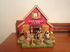 Ron Lee Old McRonalds Farm #1 Rare Ducky Bunny Piggy Horsey Rooster Cow  Lamb