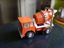 Gama Mini - Faun Transport Betonmischer - orange, 60er Jahre gut!!
