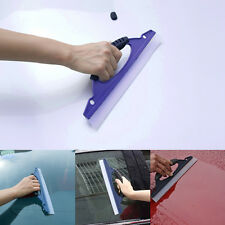 Car Window Wash Cleaning Brush Soft Squeegee Drying Blade Cleaner Wiper