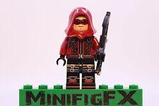 Lego ARSENAL Custom Minifig DC Comics Super Hero Roy Harper Thea Queen Red Arrow