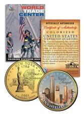 * 10th Anniversary * World Trade Center 9/11 U.S. MINT New York State Quarter