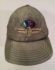 Vintage Indy 500 Racing Indianapolis Motor Speedway Snapback Hat Made in US