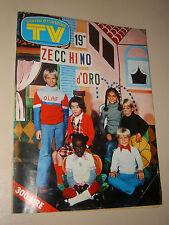 TV SORRISI CANZONI=1976/48=ZECCHINO D'ORO=GILES SEGAL=JESSE GREEN=SERGIO REGGI=