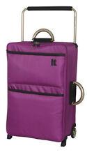 IT Luggage World's Lightest Suitcase Dahila Mauve Medium New