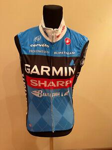 Brand New Original Castelli GARMIN Cycling VESTS Size S For Men