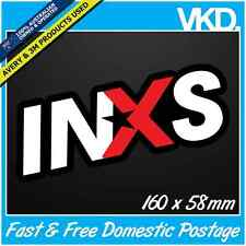 INXS Sticker/ Decal - Band Music Vinyl Rock Car Fridge Hutchence Laptop Need You