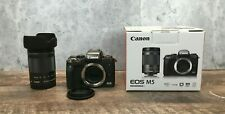 Canon EOS M5 with EF-M18-150 IS STM Zoom Lens, Working in Great Condition