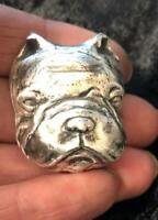 "3 Oz MK BarZ Hand Poured ""Lil Bulldog""  Bar .999 FS"