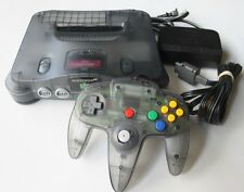 Nintendo 64 N64 Smoke Grey Console System Only Funtastic Clear Atomic Black OEM