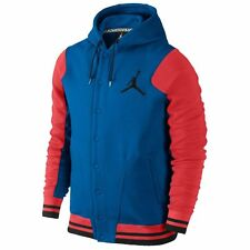 NEW Men's Jordan by Nike Varsity Hoodie Jacket Size: Large Color: Crimson