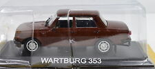 Wartburg 353 Scale 1:43 Brown from Atlas die-cast