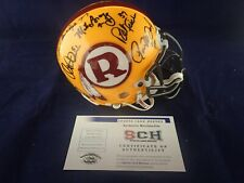 70 GREATEST Redskins Signed Auth Mini Helmet W/14 Autographs SCH #27886 Auth