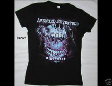 AVENGED SEVENFOLD Nightmare Junior Size Medium Black T-Shirt