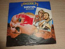 LP 45 GIRI AMERICA SURVIVAL SANREMO '82