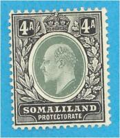 SOMALILAND PROTECTORATE 32  MINT HINGED OG *  NO FAULTS VERY FINE !