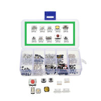 10 Models 250PCS Tact Switch Button Electronic Equipment Replacement Accessories