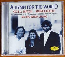 Cecilia Bartoli - Andrea Bocelli - Myung-Whun Chung - A Hymn for the World - CD