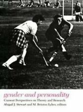 Gender and Personality : Current Perspectives on Theory and Research