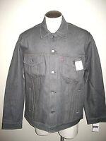 Levi's Mens Button up Denim Trucker Jean Jacket Rigid Grey 707970002 NWT 2XL
