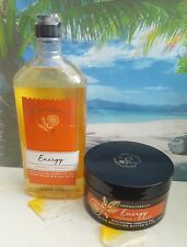 bath and body works aromatherapy orange & ginger body wash and body butter