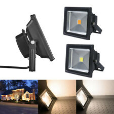 3x Set esterno LED riflettore luce MAREA FARETTO OUTDOOR IMPERMEABILE 4500k NERO 20w