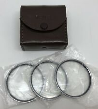 VEMAR Close-Up 52mm Screw-In Set of 3 Coated LENSES Filters w/ Case (RF884)