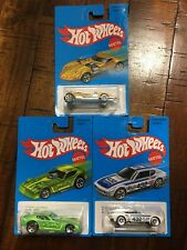 HOT WHEELS Retro 77 PLYMOUTH ARROW DRAGSTER; Yellow Twin Mill; Volkswagen SP2