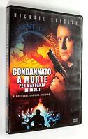 DVD CONDANNATO A MORTE PER MANCANZA DI INDIZI 1983 Thriller Michael Douglas