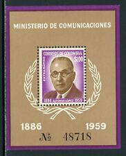 Colombia Scott #C396 MNH S/S Alfonso Lopez CV$5+