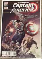 Sam Wilson Captain America #9 (2015 Marvel)