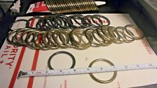 """50 Plus 2"""" Welded Metal """"O"""" Ring Mixed Lot"""