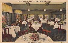 Postcard Santa Maria Inn The Dining Room Santa Maria Ca