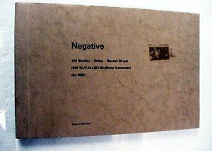 Vintage German Negative File  | for 150 neg Strips | 50 pgs | New | NOS | $22 |