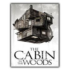 La cabane dans les Bois Métal Signe Plaque Murale Film Movie poster print CINEMA