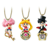 3pcs Anime Sailor Moon Twinkle Dolly PVC Keychain Figure Pendant 5cm