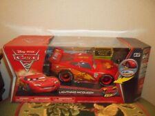 Disney Pixar Cars 2 Lightning McQueen Air Hogs RC Remote Control Car 1:24