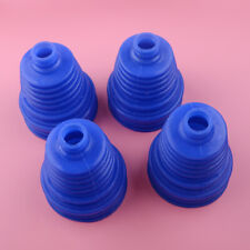 4pcs Universal Silicone Constant Velocity CV Boot Joint Kit Replacement BLUE