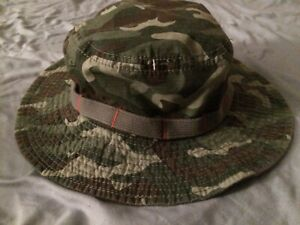 NEW The Children's Place Camoflauge Bucket Hat Size Medium 7-8 Years Free Ship