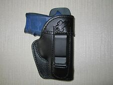 Smith & wesson bodyguard 380, IWB leather holster, right hand WITH SWEAT SHIELD