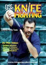 Brazilian Knife Fighting Cangaceiro Martial Arts Dvd Testa Desert Rattle Snake