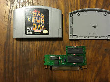 Nintendo 64 Conker's Bad Fur Day  BFD Authentic Cartridge