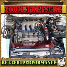 RED CHF 93 94 95 96 97 FORD PROBE GT/MAZDA MX6/626 2.5 2.5L V6 COLD AIR INTAKE