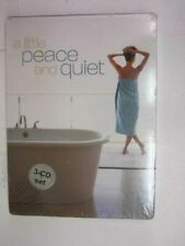 A Little Peace and Quiet - 3 CD Box Set - Relaxation Music -  BRAND NEW   SEALED